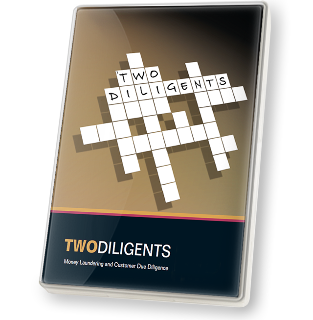 Product image showing Two Diligents DVD cover